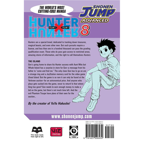Hunter x Hunter, Volume 8