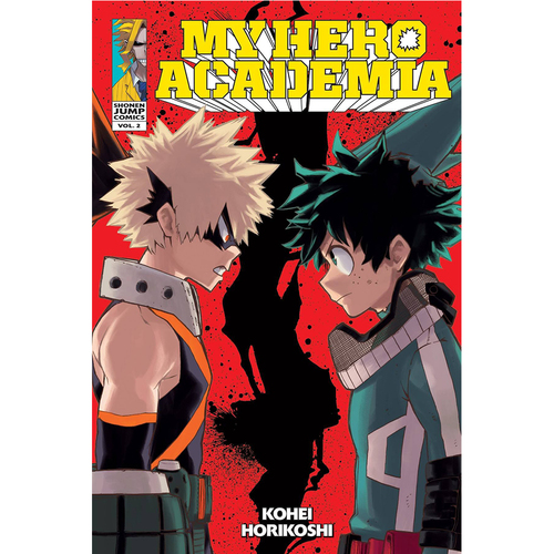 My Hero Academia, Volume 2