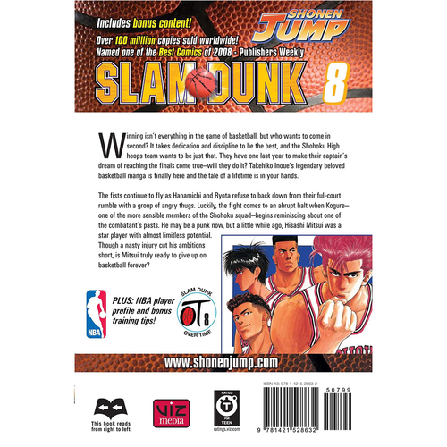 Slam Dunk, Volume 8