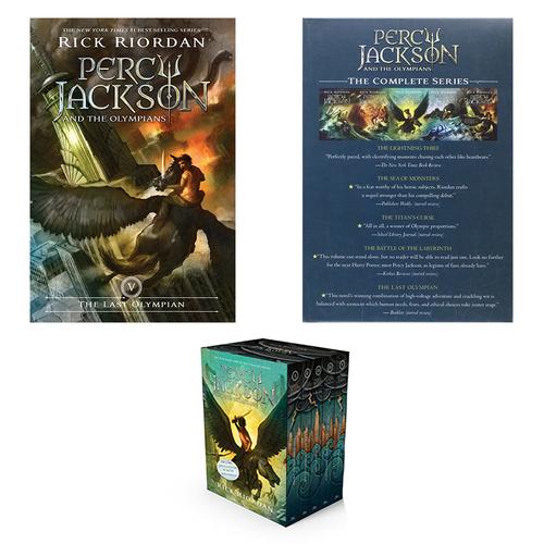 Percy Jackson and the Olympians Boxed Set, Book 1-5