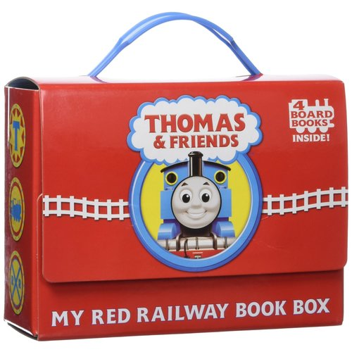 Friends My Red Railway Book Box