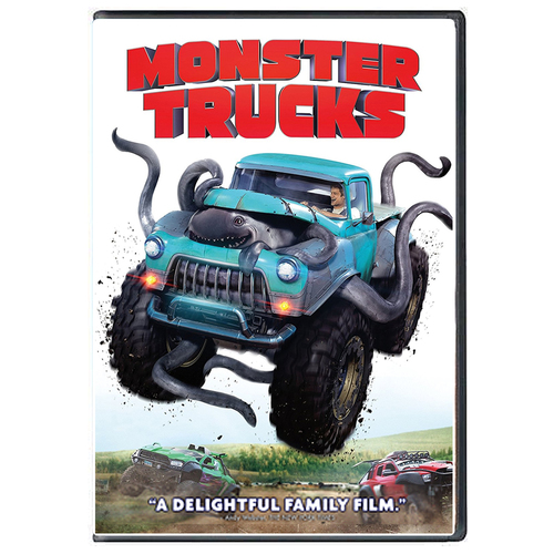 Monster Trucks (2017) DVD
