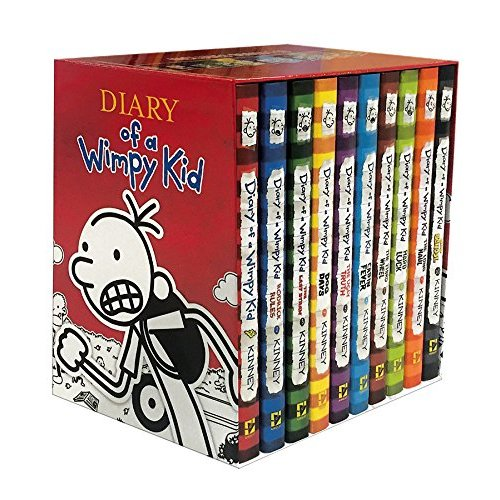 Diary of a Wimpy Kid Boxed Set, Books 1-10